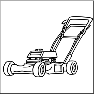 picture free stock Clip art gasoline lawn. Lawnmower clipart black and white.