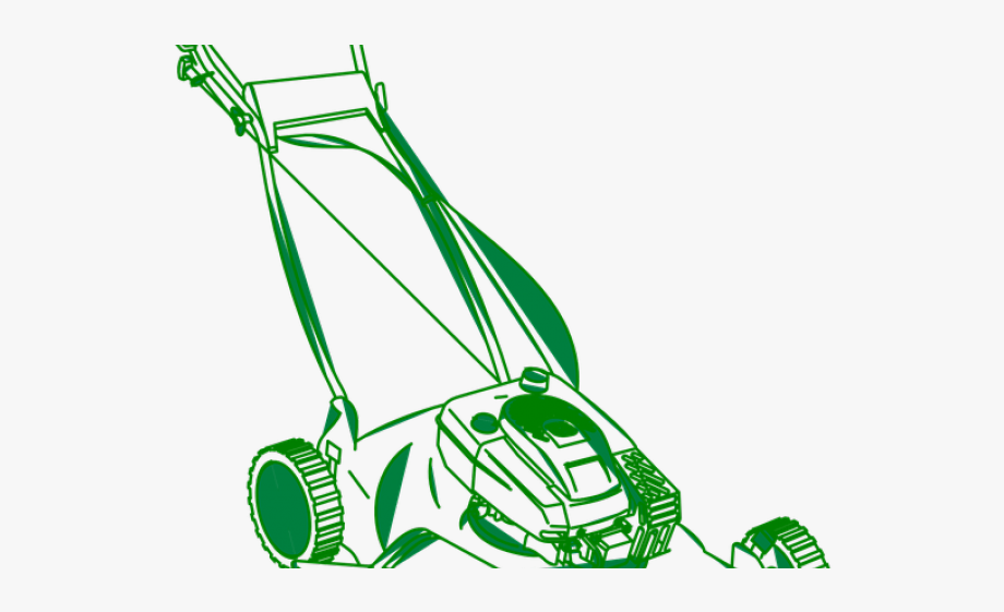 vector black and white download Lawnmower clipart green. Grass lawn mower png.