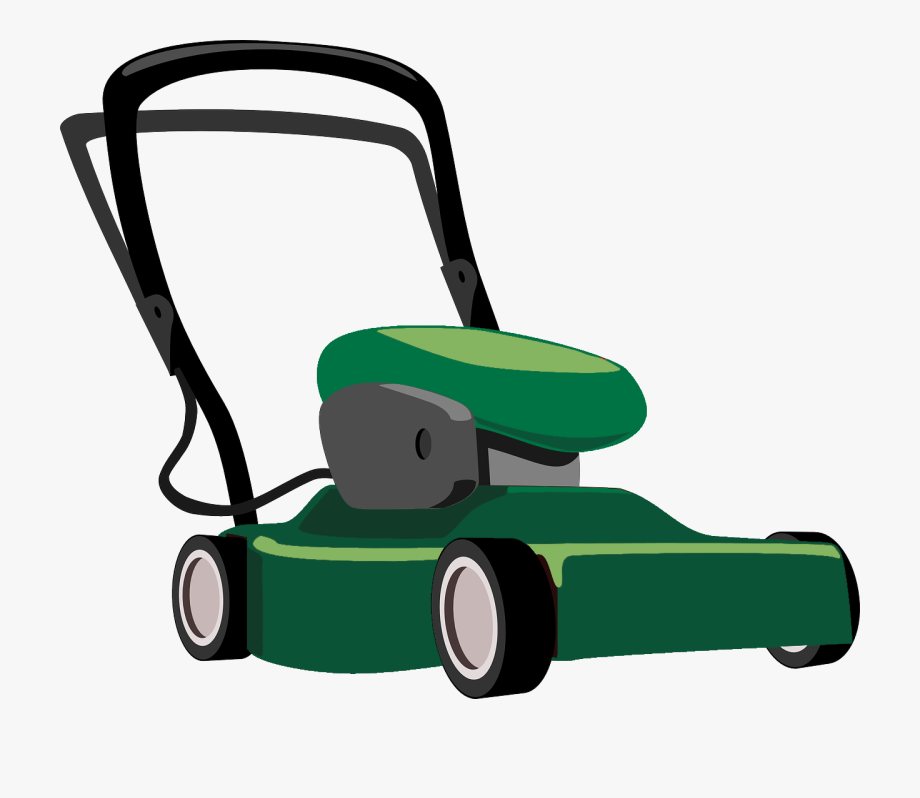 banner Professional lawn mower transparent. Lawnmower clipart green.