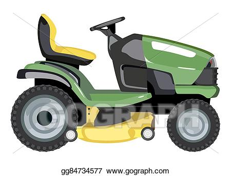 clip royalty free download Lawnmower clipart green. Vector art lawn mower.