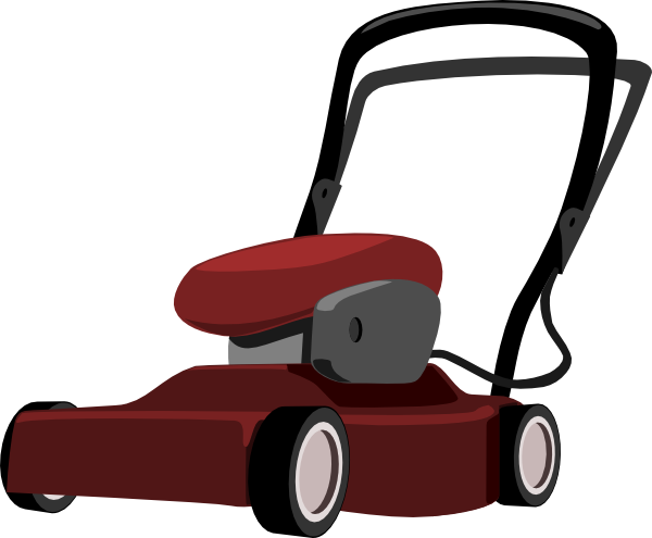 clip art freeuse stock Lawnmower clipart. Lawn mower clip art.