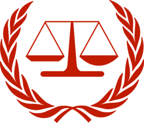 jpg library library Laws clipart justice. International law logo clip.