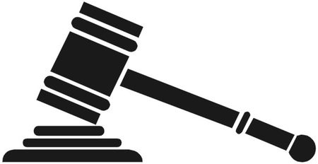 graphic freeuse stock Law cliparts zone . Lawyer clipart gavel.