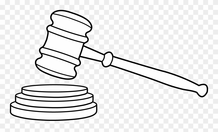 vector freeuse download Lawyer clipart gavel. Clip art free png.