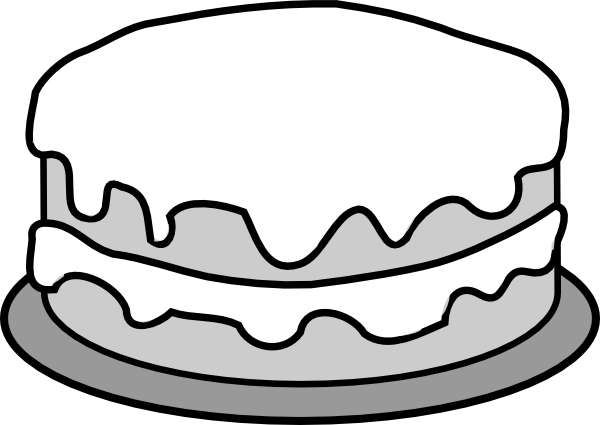 image black and white stock Yes clipart black and white.  collection of cake