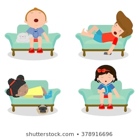 image library download Lazy kid clipart. Portal