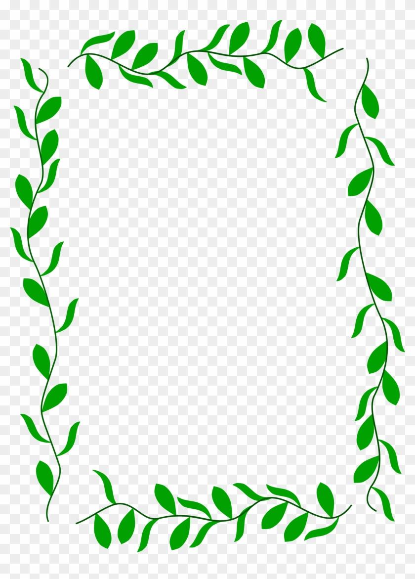 clip art black and white Leaf border clipart. Clip art big image
