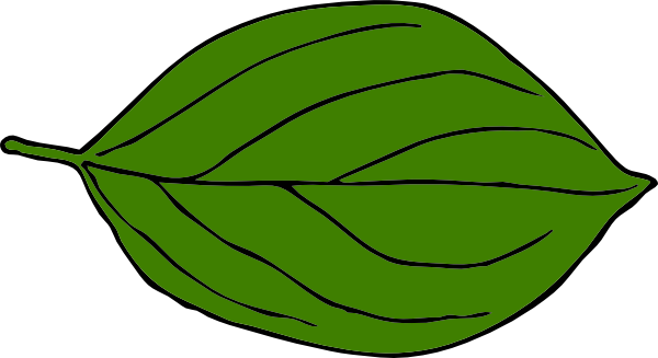 image royalty free Leaf clipart. Dark green