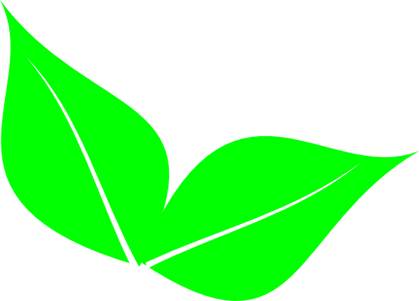 graphic freeuse stock Leaf clipart. Two