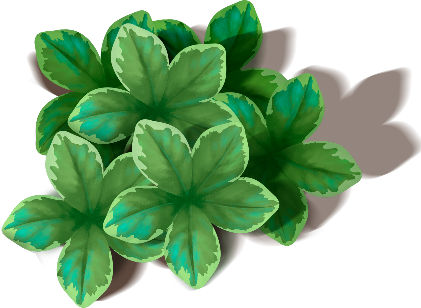 clip transparent library Leaf clipart bunch. Green leaves png picture.
