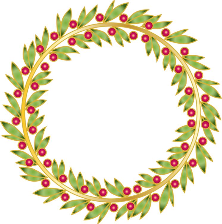 clip art library download Leaf wreath clipart. Branch fir christmas ornament