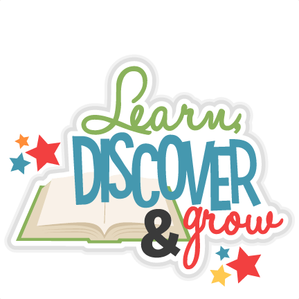 png free stock Discover grow title svg. Learn clipart.