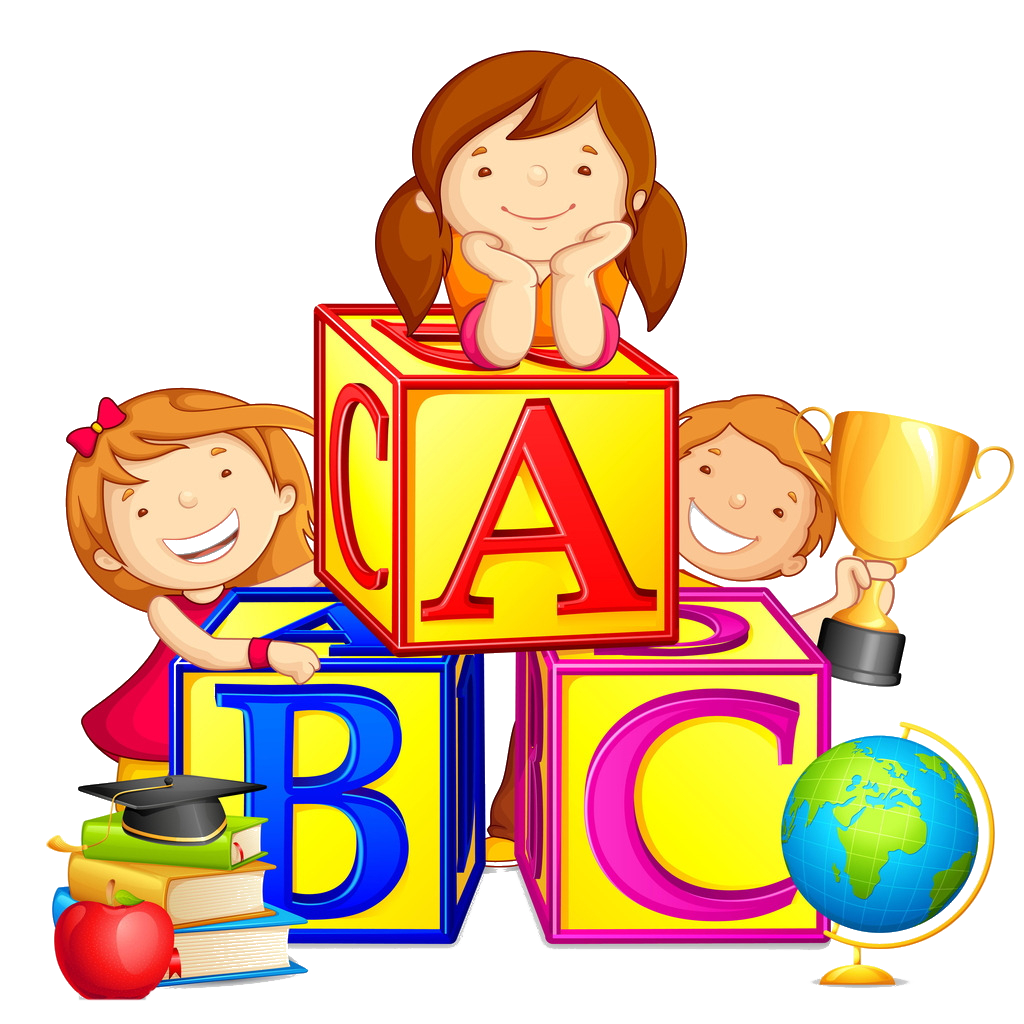 image transparent Literate days reading and. Learn clipart children