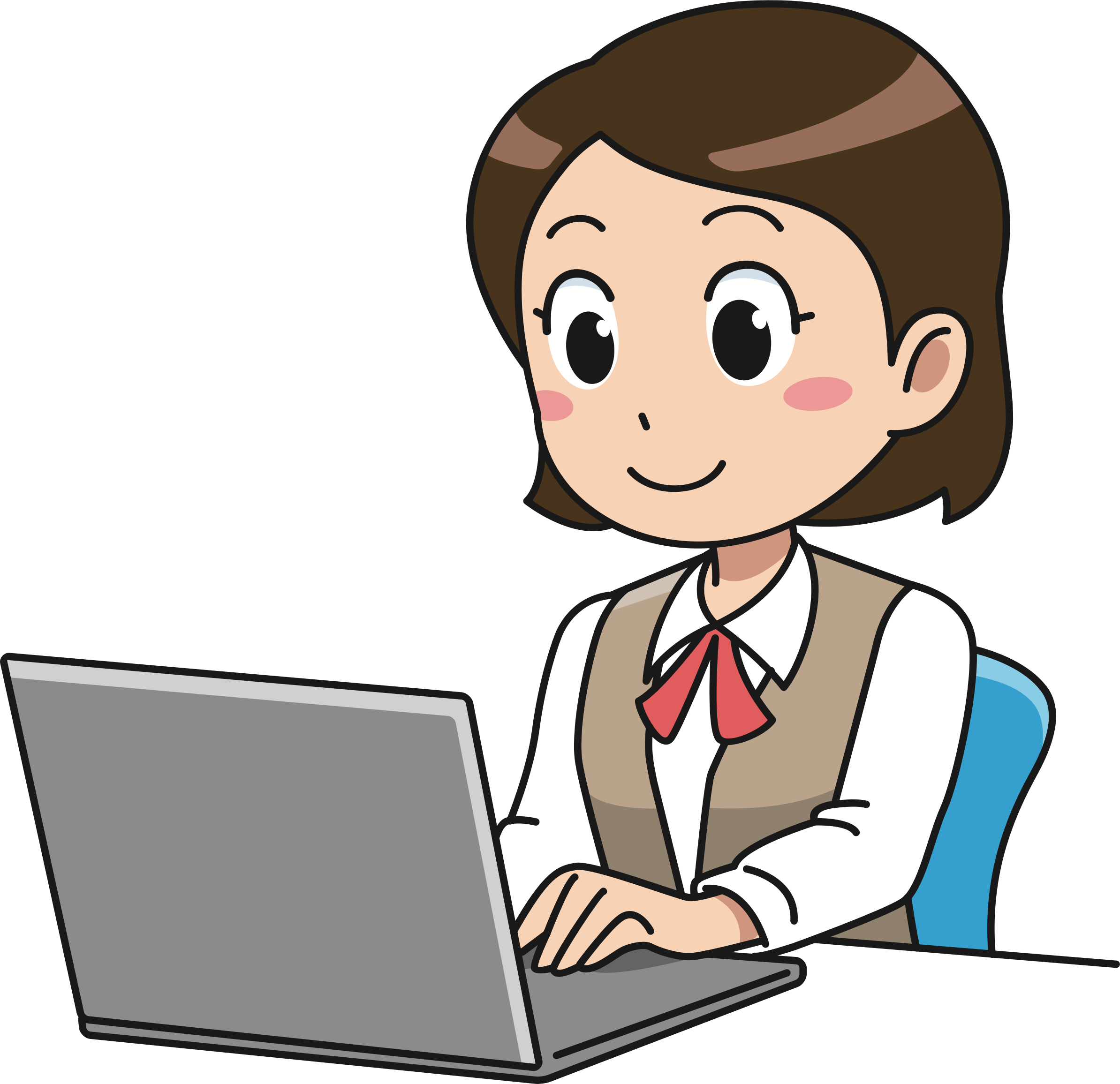 jpg freeuse library Business english beacon heights. Learn clipart girl.