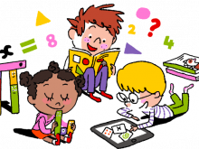banner free stock Math kids clipartuse surprise. Learning clipart.