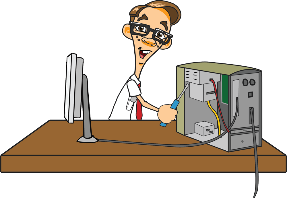 stock Pc clipart computer hardware servicing. Repair group assistance transparent