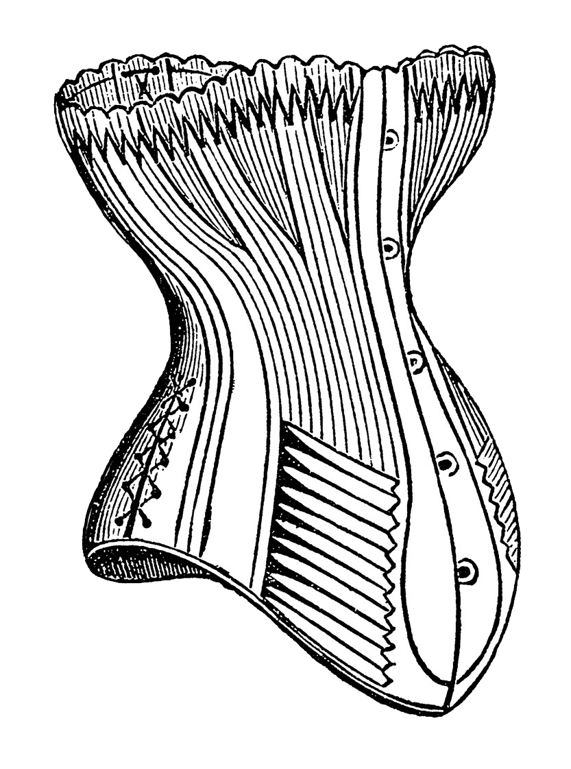 jpg free stock Collection of free Corset drawing