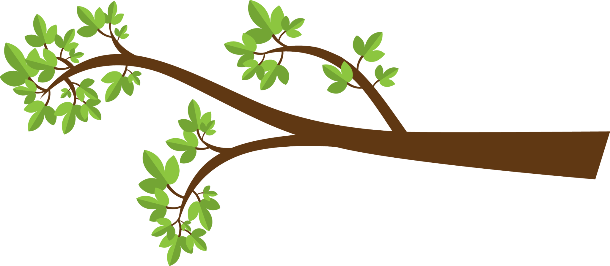 clip art transparent library Leaves clipart branch.  collection of with.