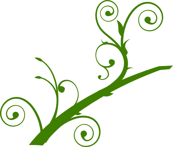 vector freeuse library Green Branch Leaves Clip Art at Clker