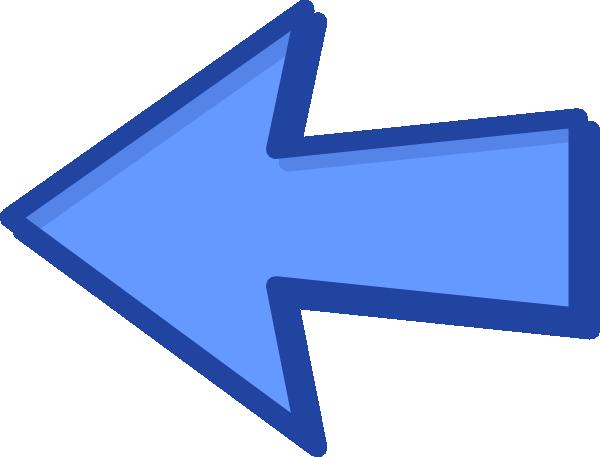 clip art free download Left arrow clipart. Blue .