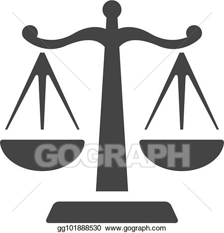 banner Vector bw icons justice. Legal clipart litigation.