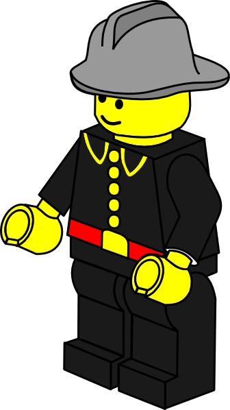 picture freeuse stock Lego town fireman clip. Construction workers clipart.
