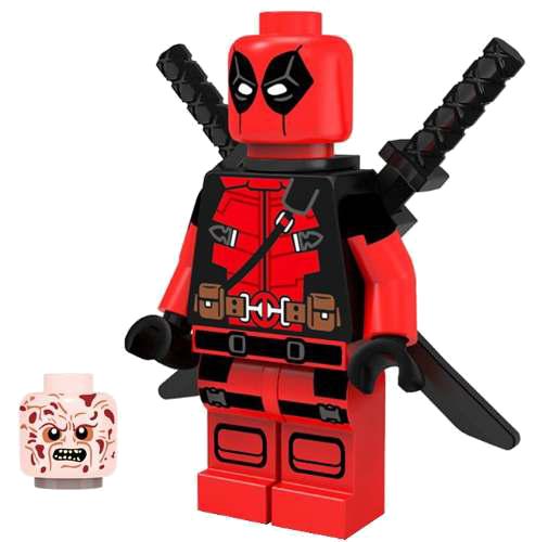 clip art Deadpool Lego Clipart Png