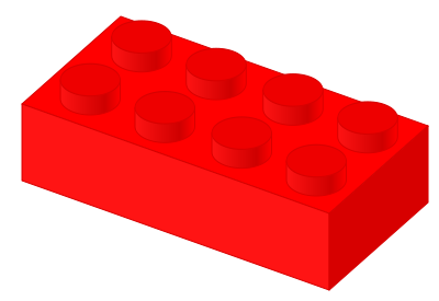clipart freeuse stock Lego clipart red clipart. File plastic brick svg.