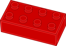 picture freeuse library Brick i royalty free. Lego clipart red clipart.