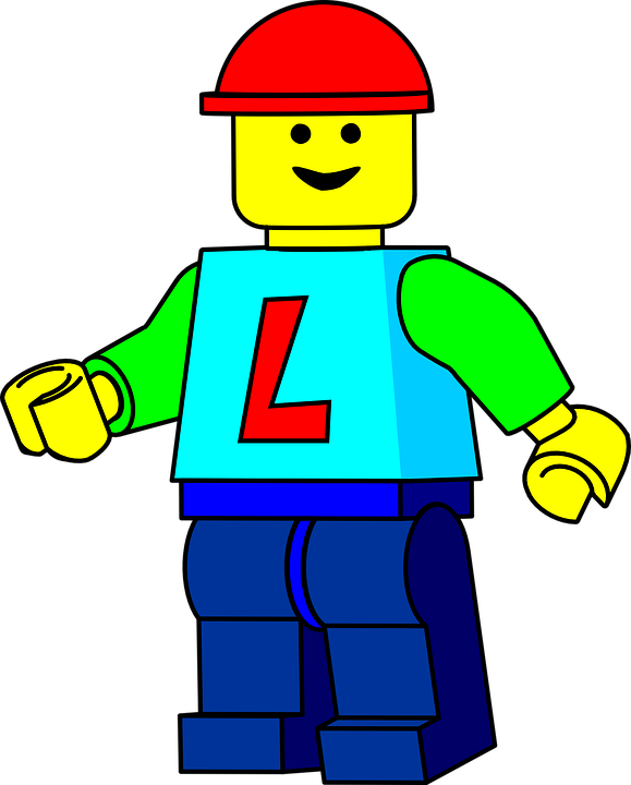 banner black and white library Lego boy free on. Legos clipart childs toy.