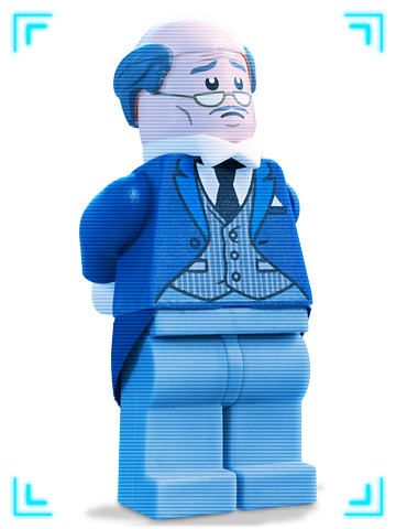 picture library download Legos clipart. Alfred lego from batman