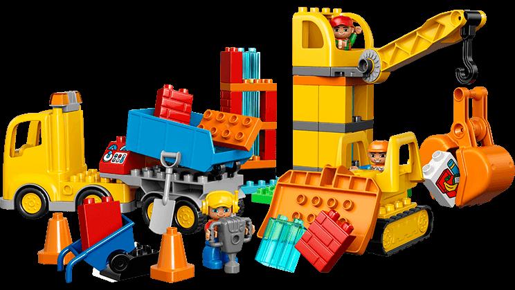 picture freeuse Big construction site lego. Legos clipart builds.