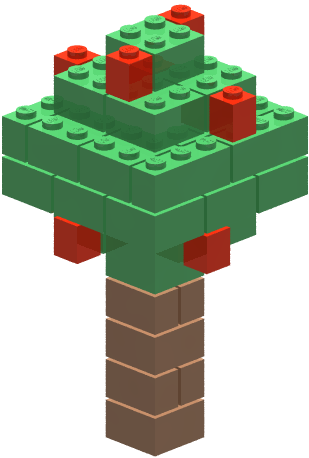 jpg royalty free Legos clipart builds. Lego tree free on.