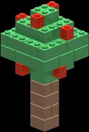 jpg royalty free Lego tree free on. Legos clipart builds.