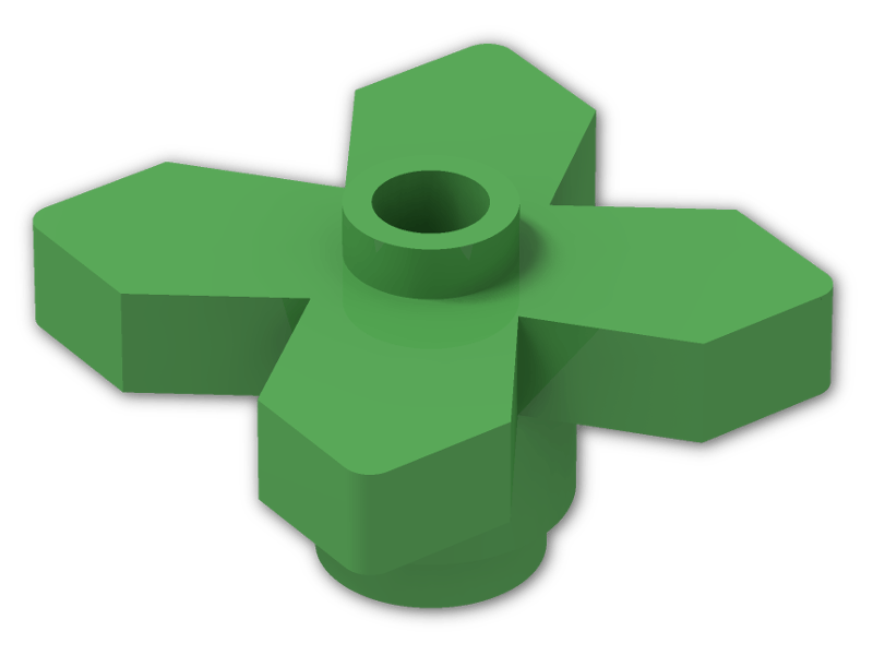 clip art royalty free download Legos clipart green. Plant flower x leaves.