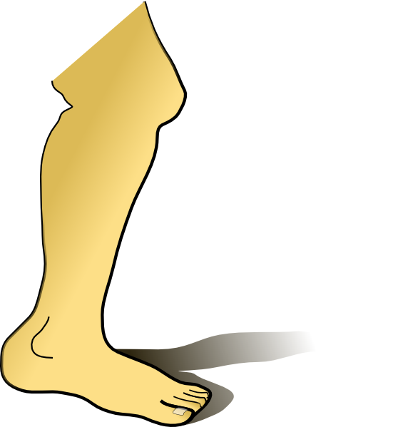 free download Leg clipart foot kick. Legs left free on.