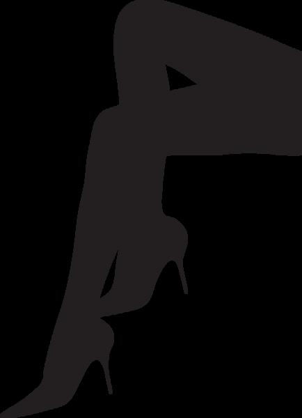 clipart library  sa woman s. Legs clipart heel silhouette.