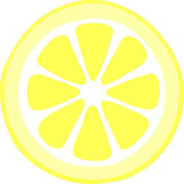 svg library library Lemon clipart lemon slice. Two tonelemon hi png.