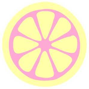 clip transparent download Lemon clipart lemon slice. Pink clip art at.