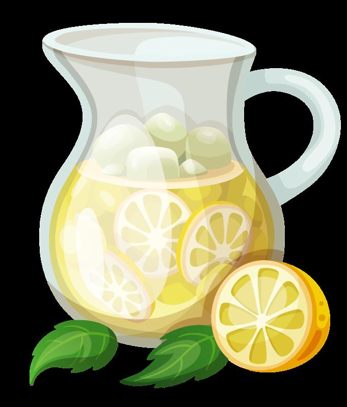 banner black and white download Summer food png clip. Lemon clipart mason jar.