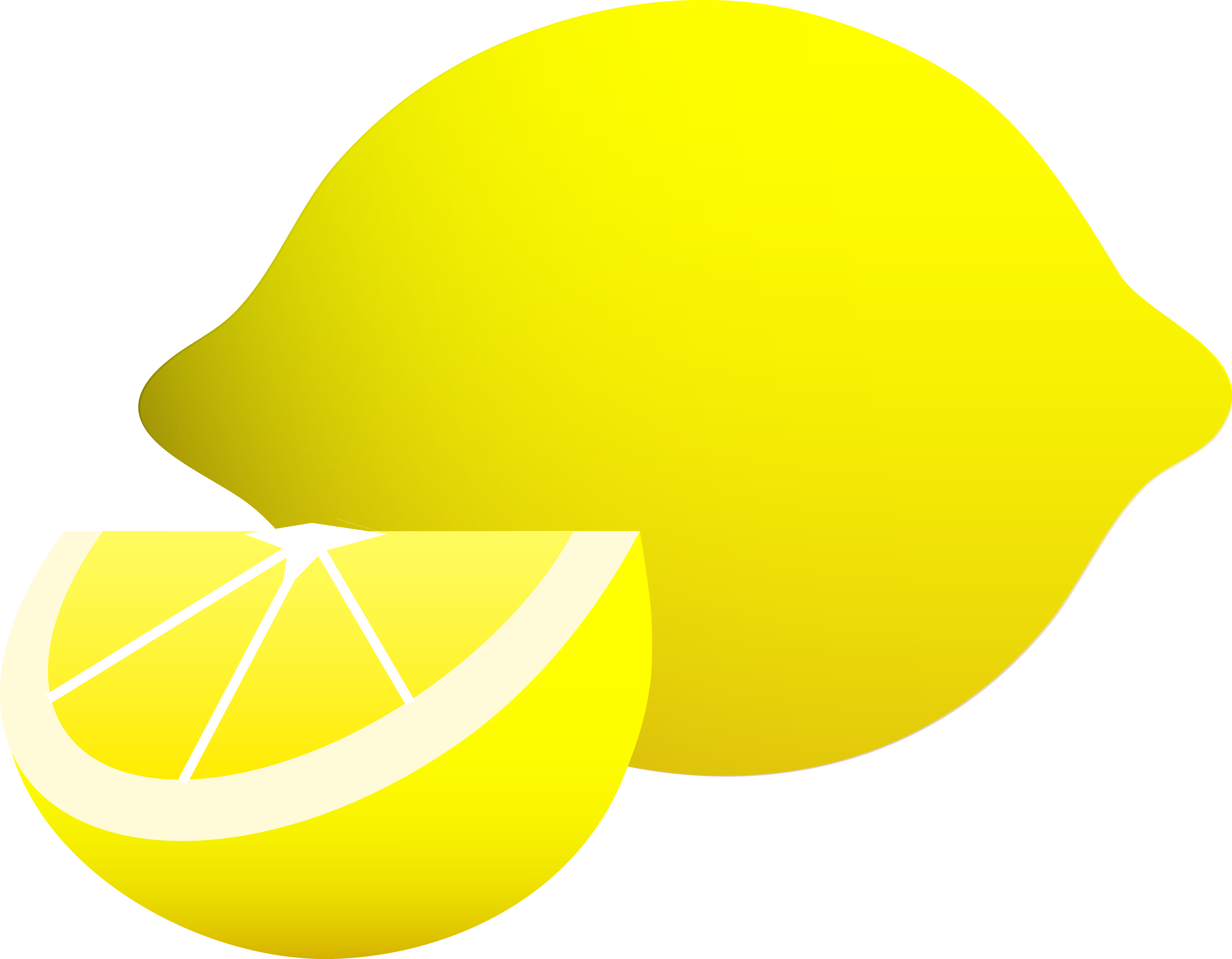 jpg library library Lemon clipart psd. Wedge drawing at getdrawings.
