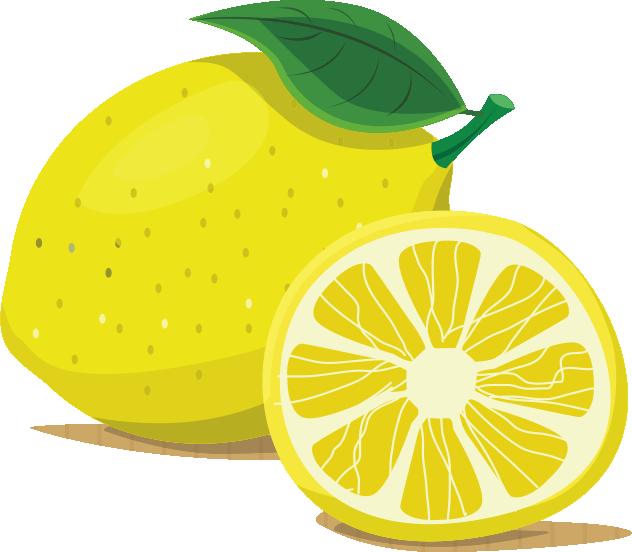 clip royalty free Cartoon Lemon
