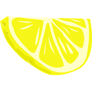 clip freeuse download Slice free download best. Lemon wedge clipart.