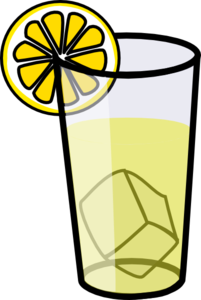 picture black and white library . Lemonade clipart.