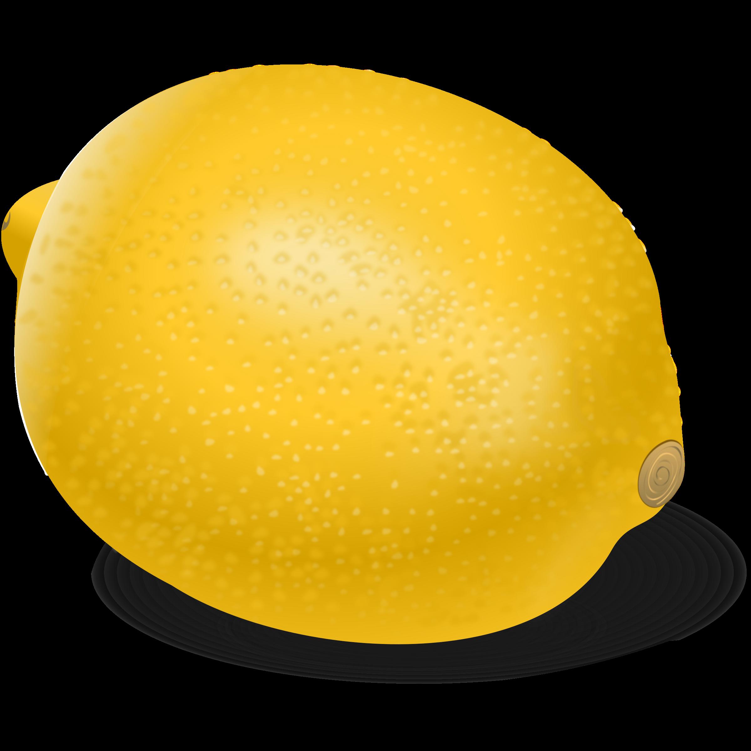 graphic free library Lemons clipart citron. Lemon citrina big image.