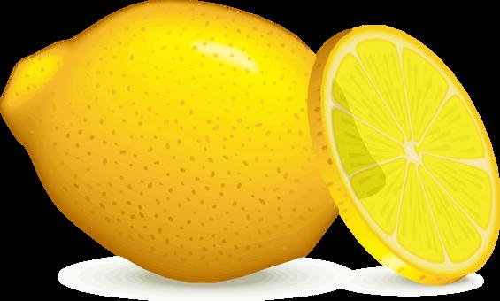 graphic freeuse Lemon calabaza yellow computer. Lemons clipart citron.