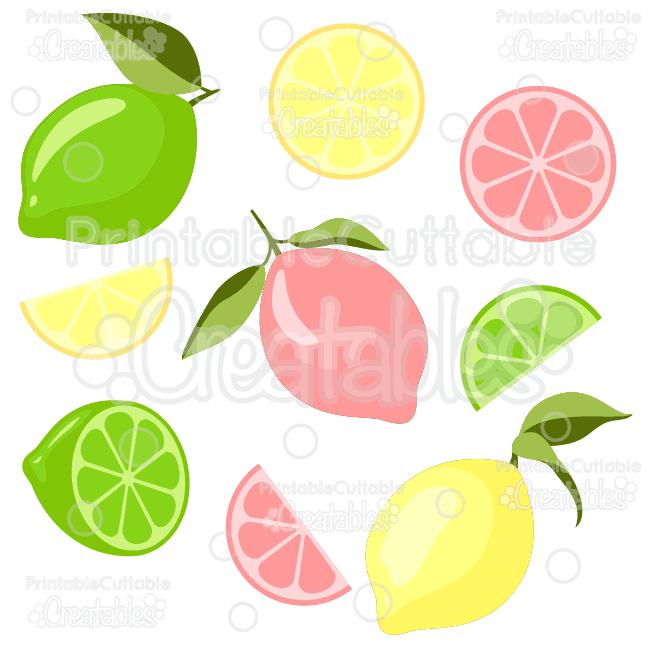 clipart download Limes svg cut files. Lemons clipart file.