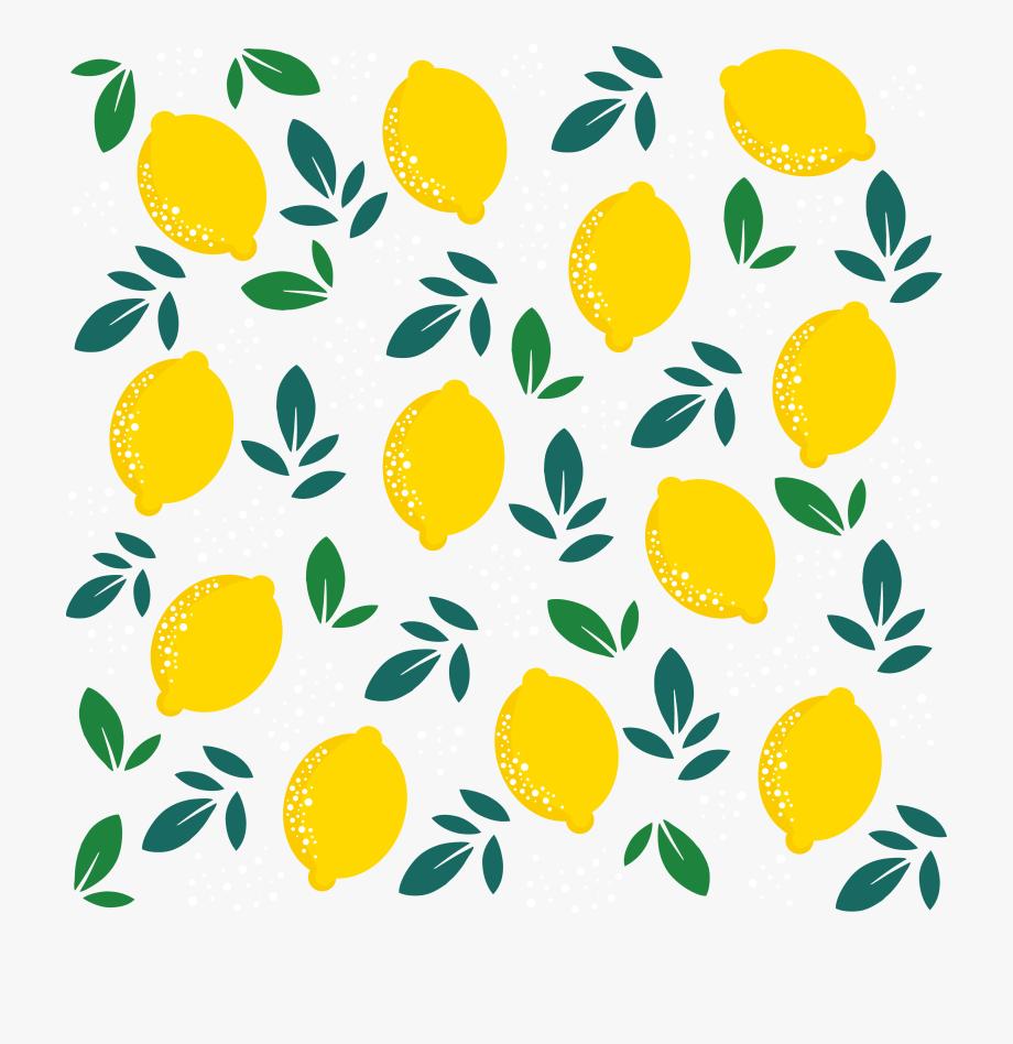 graphic free Leaf background transparent . Lemons clipart lemon fruit.