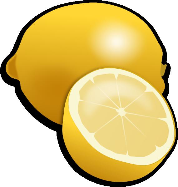 vector freeuse download Lemons clipart lemon fruit. Clip art at clker.