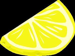 clip free Lemon Wedge Clip Art at Clker
